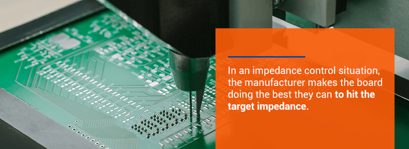 impedance control during pcb manufacturing process
