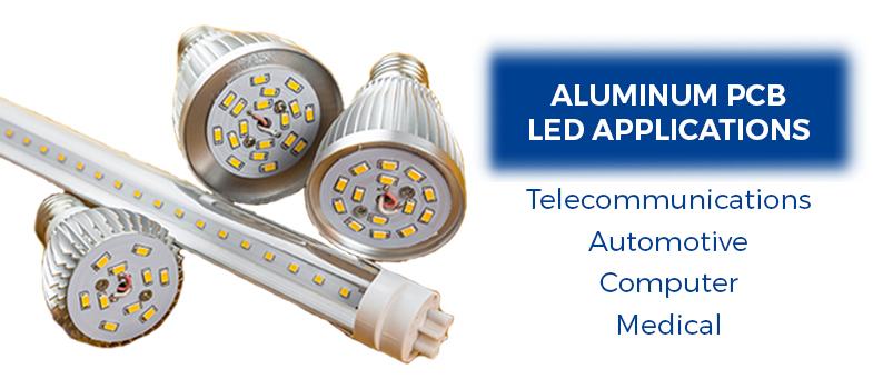 aluminum pcb LED applications