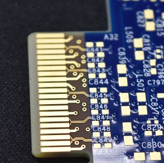 pcb with hard gold finish