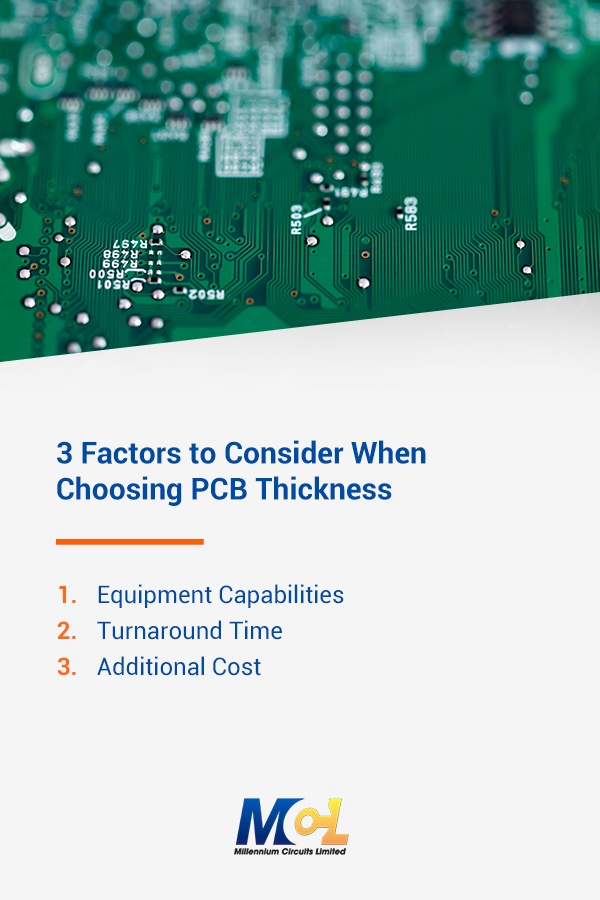 3 Factors to Consider When Choosing PCB Thickness