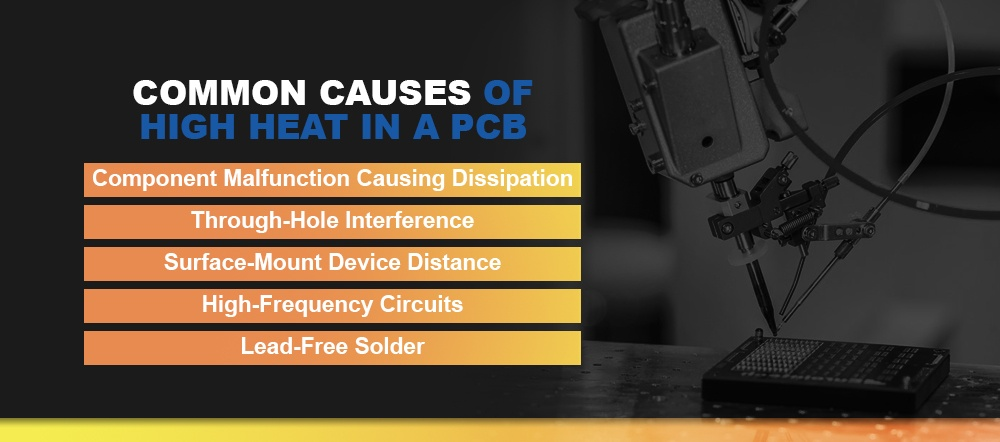 Common Causes of High Heat in a PCB