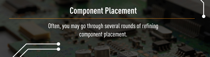 circuit board component placement