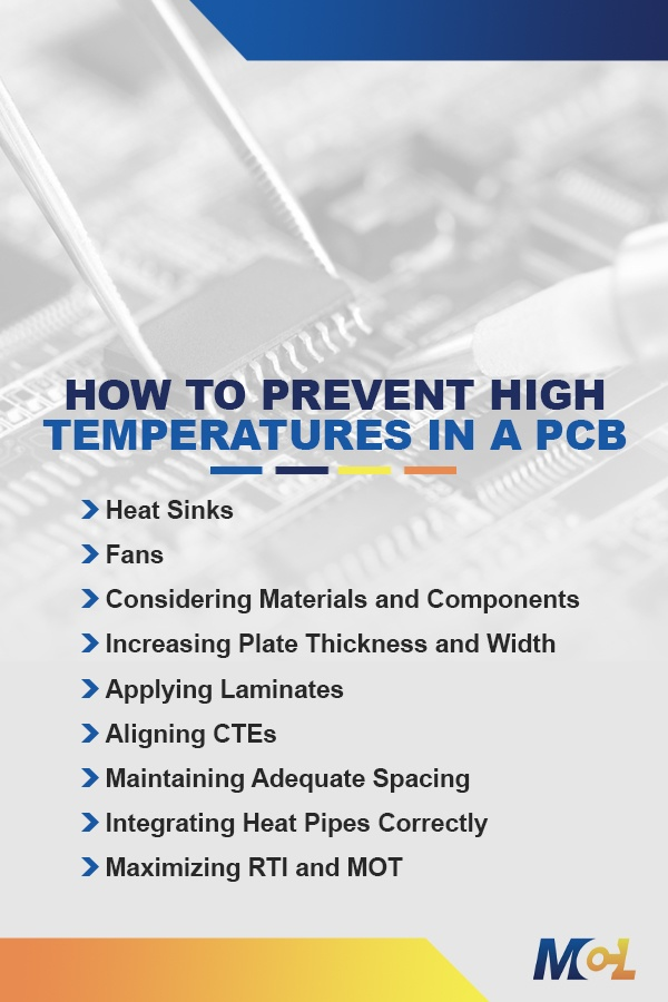 How to Prevent High Temperatures in a PCB