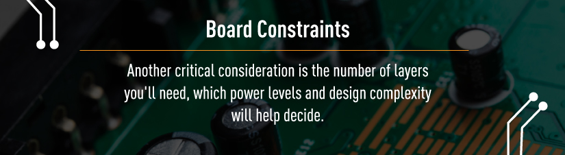 PCB Constraints