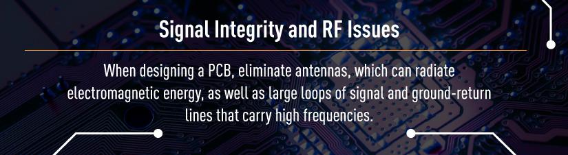 Signal Intergirty PCB