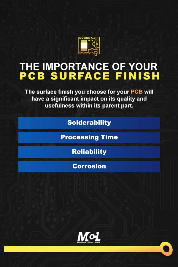 The Importance of Your PCB Surface Finish